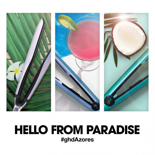 ghd Atlantic Jade limited edition classic god V Stylere hello from paradise in 20%-33
