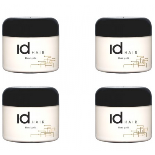 ID 4 x Id Hair Hårvoks Hard Gold 400 ml.-31