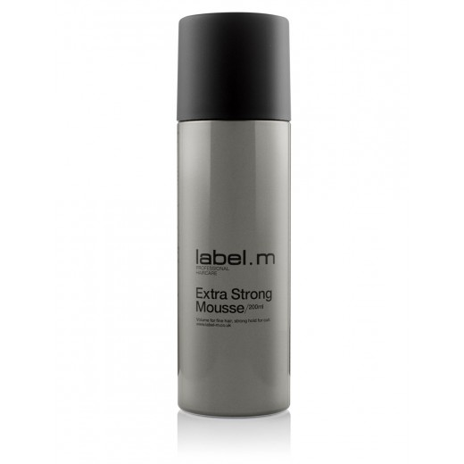 Label M Extra Strong Mousse 200 ml.-31