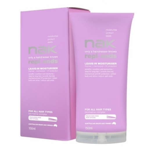 NAK Repl Ends Leave in Moisturiser 150 ml-31