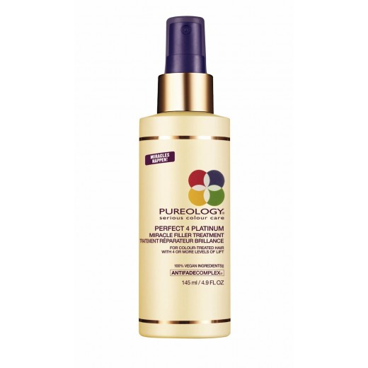 Pureology Perfect 4 Platinum Miracle Filler Treatment 145 ml.-31