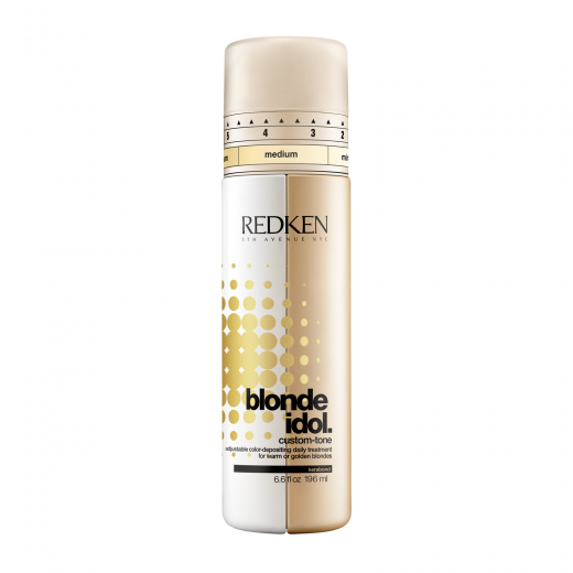 Redken Blonde Idol Custom-Tone Conditioner Gold 196 ml.-31
