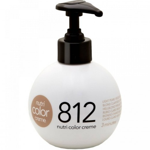 Revlon Nutri Color 812 Light Pearly Beige Blonde 250 ml.-31