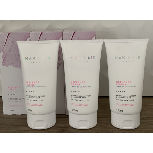 NAK HAIR Replends Creme 3PAK Leave-in Moisturiser NY UDGAVE-01