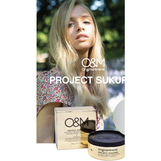 OandM Project Sukuroi Gold Smoothing Balm 100 ml.-33