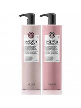 Maria Nila Luminous Colour Shampoo and Conditioner Liter sæt (2000 ml. i alt)-20
