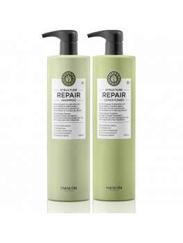Maria Nila Structure Repair Shampoo and Conditioner Liter sæt (2000 ml. i alt)-20