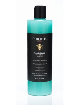 Philip B Nordic Wood One Step Shampoo 350 ml. + GRATIS mini shampoo 15 ml.-20