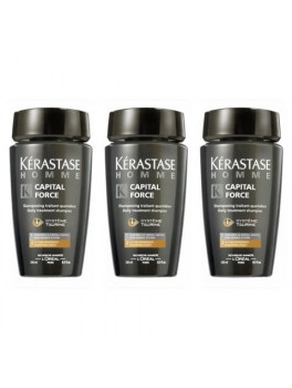 Kerastase Homme Bain Capital Force Fine Hair x 3 (ialt 750 ml.)-20