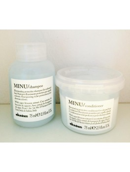 Davines Minu Shampoo and Conditioner MINI (ialt 150 ml.) NY-20
