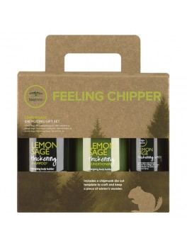 PAUL MITCHELL FEELING CHIPPER GREEN TEA TREE CITRON SAGE GIFT SET-20