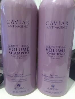 caviar bodybuilding volume shampoo + conditioner 2000 ml-20