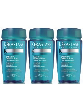 Kerastase Specifique Bain Vital Dermo-Calm x 3 stk. 750 ml.-20
