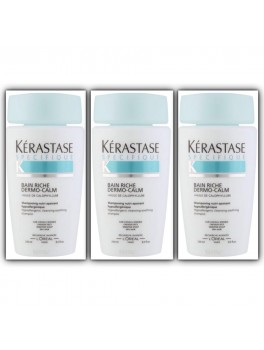 Kerástase Specifique Bain Riche Dermo-Calm x 3 stk. 750 ml.-20