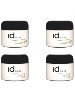 ID 4 x Id Hair Hårvoks Hard Gold 400 ml.-20