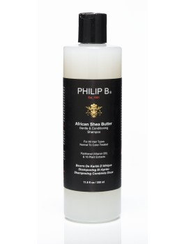Philip b African Shea Butter Gentle and Conditioning 350 ml. + GRATIS mini shampoo 15 ml. 25%-20