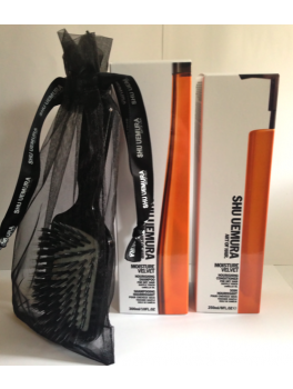 Shu Uemura Velvet Shampoo and Conditioner + Mini Paddle Brush 550 ml.-20
