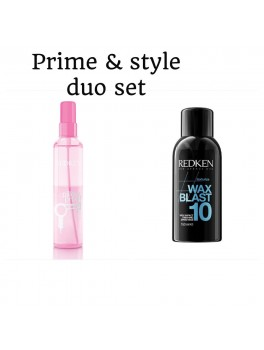 Redken Prime and Style Duo Set Pillow proof and Wax Blast 10 (Ialt 320 ml.)-20