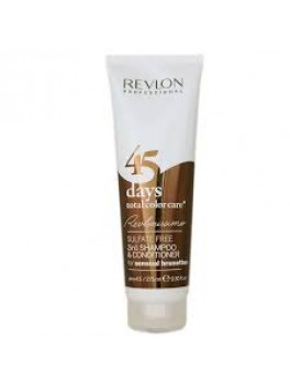 Revlon 45 days 2in1 shampoo and conditioner (sensuel brunette) 275 ml.-20