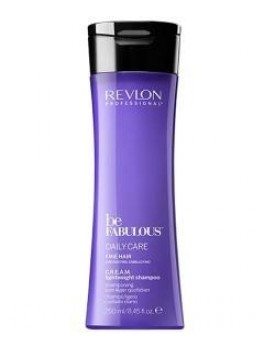 revlon be fabulous soin quotidien cream shampoo léger 250 ML-20