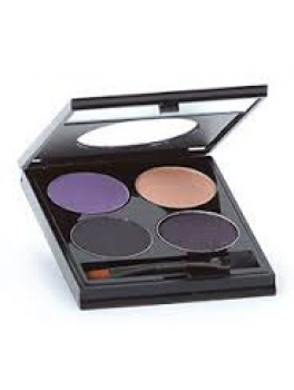 Mineralogie Quad pressed eye shadow compacts. The temptress collection-20