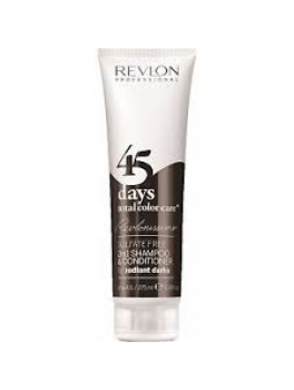 Revlon 45 days 2in1 shampoo and conditioner (Radiant darks) 275 ml.-20