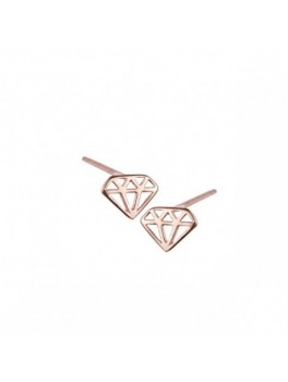 KC ROSE GOLD DIAMOND, ØRESTIK-20