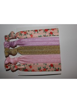 Iloveshampoo Hairbands (Guld, Pink, Lyserød, Hvid and Blomster )-20