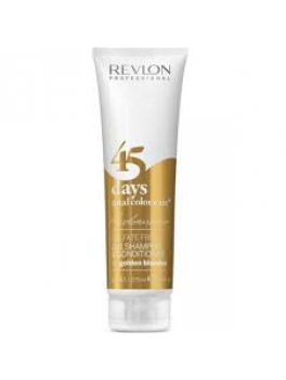 Revlon 45 days 2in1 shampoo and conditioner (Golden blondes) 275 ml.-20