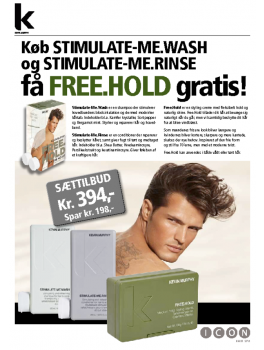KEVIN MURPHY Stimulate-Me.wash and Stimulate-me.Rinse GRATIS KEVIN MURPHY FREE.HOLD-20