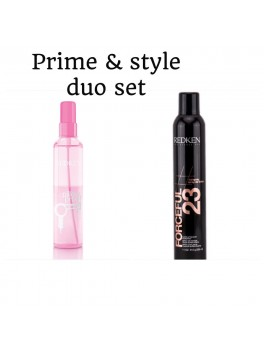 Redken Prime and Style Duo Set Pillow proof and Forceful 23 (i alt 482 ml.)-20