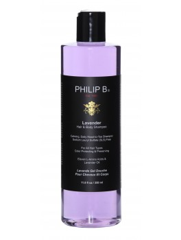Philip B Lavender Hair and Body Shampoo 350 ml. + GRATIS mini shampoo 15 ml.-20