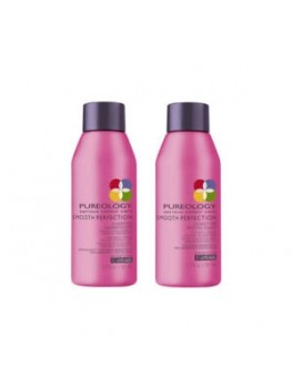 Pureology smooth perfection shampoo and conditioner mini size-20