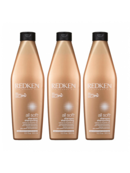 Redken All Soft Shampoo x 3 stk. 900 ml.-20