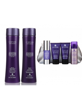 Alterna Caviar Moisture Shampoo and Conditioner + Gavesæt (ialt 650 ml.)-20