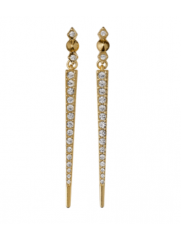 Pilgrim EARRINGS, GOLD PLATED, CRYSTAL-20