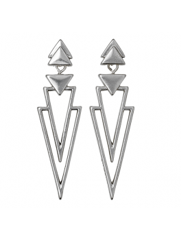Pilgrim EARRINGS, SILVER PLATED-20