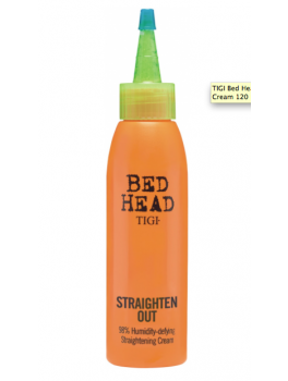 Slutspurts tilbud!! TIGI Bed Head Straighten Out Straightening Cream 120 ml.-20