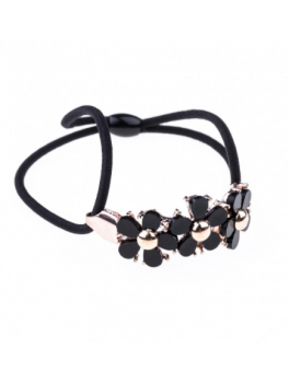 Petite Affaire Hairband Flower Black-20