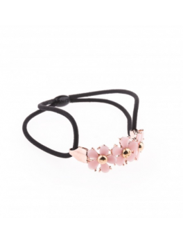Petite Affaire Hairband Rosa Flower-20