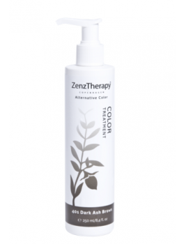 Zenz Therapy Color Treatment 401 Dark Ash Brown 250 ml-20