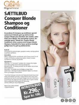 original mineral SÆTTILBUS conquer blonde shampoo + conditioner-20