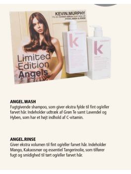 kevin murphy ANGEL.WASH + RINSE BIG IS BETTER LIMITED EDITION SHAMPOO OG CONDITIONER 1000ml-20