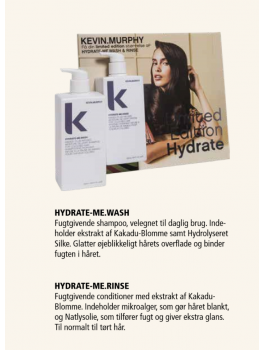 kevin murphy HYDRATE-ME.WASH + RINSE BIG IS BETTER Limited edition shampoo og conditioner 1000ml-20