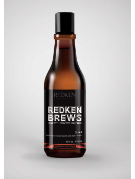REDKEN BREWS 3-IN-1 SHAMPOO, CONDITIONER and BODY WASH-20