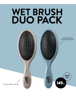 HH SIMONSEN Wet brush duo pack blue and silver-20