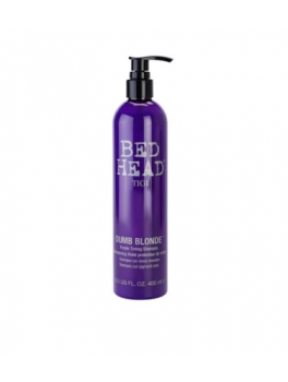 TIGI Bed Head Dumb Blonde purple toning shampoo For Blonde Hair-20