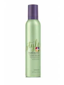 Pureology clean volume weightless mousse-20