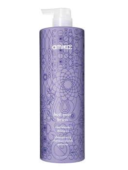 Amika Bust Your Brass Cool Blonde Shampoo 1000ml-20