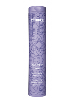 Amika Bust Your Brass Cool Blonde Shampoo 300ml-20